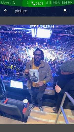 Kimberly attended New York Knicks vs. Brooklyn Nets - NBA on Jan 26th 2020 via VetTix