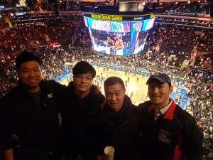 Ryu attended New York Knicks vs. Brooklyn Nets - NBA on Jan 26th 2020 via VetTix