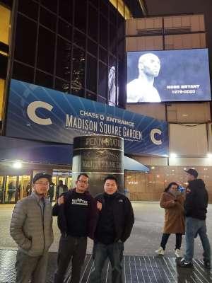 can attended New York Knicks vs. Brooklyn Nets - NBA on Jan 26th 2020 via VetTix