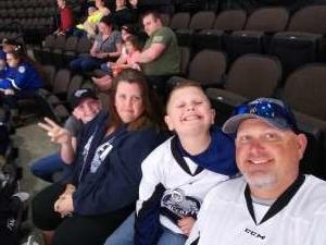 Anthony attended Jacksonville Icemen vs. Florida Everblades - ECHL on Feb 23rd 2020 via VetTix