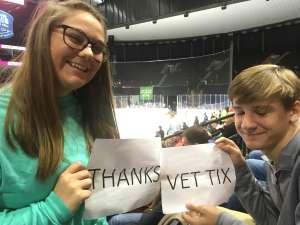 John attended Jacksonville Icemen vs. Florida Everblades - ECHL on Feb 23rd 2020 via VetTix