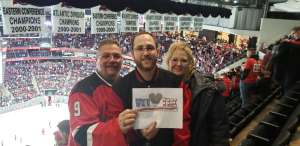 Mark attended New Jersey Devils vs. Los Angeles Kings - NHL on Feb 8th 2020 via VetTix
