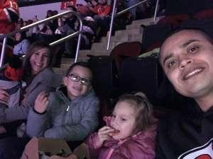 Guillermo attended New Jersey Devils vs. Los Angeles Kings - NHL on Feb 8th 2020 via VetTix