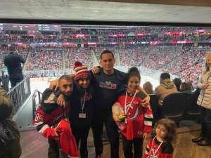 Nelson attended New Jersey Devils vs. Los Angeles Kings - NHL on Feb 8th 2020 via VetTix