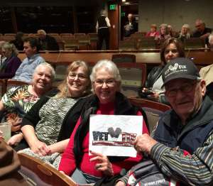 Tom attended Arizona Wind Symphony: Music in Technicolor on Feb 26th 2020 via VetTix