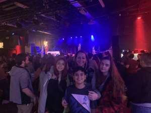 ralph attended American Authors and Magic Giant on Feb 19th 2020 via VetTix