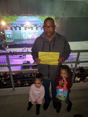 Derek attended Sesame Street Live! Make Your Magic on Feb 14th 2020 via VetTix