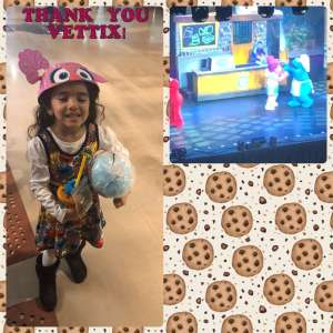 Isaiah attended Sesame Street Live! Make Your Magic on Feb 14th 2020 via VetTix