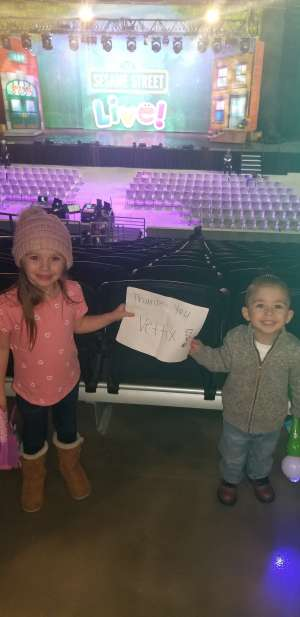 Britnie attended Sesame Street Live! Make Your Magic on Feb 14th 2020 via VetTix