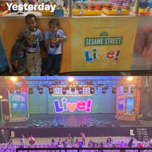 Micheal attended Sesame Street Live! Make Your Magic on Feb 14th 2020 via VetTix