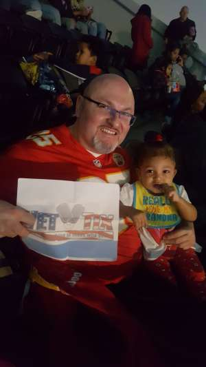 John attended Sesame Street Live! Make Your Magic on Feb 14th 2020 via VetTix