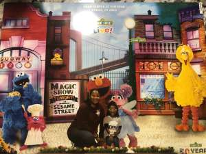 Krystle attended Sesame Street Live! Make Your Magic on Feb 14th 2020 via VetTix
