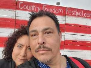 Christopher attended Lake Havasu Country Freedom Festival on Feb 22nd 2020 via VetTix