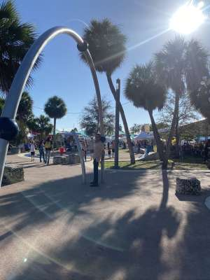 Joseph attended Coconut Grove Arts Festival on Feb 15th 2020 via VetTix