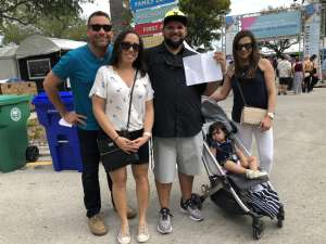 Jose attended Coconut Grove Arts Festival on Feb 15th 2020 via VetTix