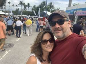1SG-John attended Coconut Grove Arts Festival on Feb 15th 2020 via VetTix