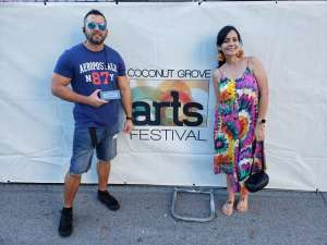 Ricardo attended Coconut Grove Arts Festival on Feb 15th 2020 via VetTix