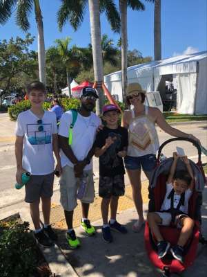 kier attended Coconut Grove Arts Festival on Feb 15th 2020 via VetTix