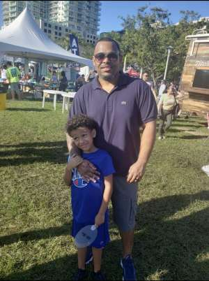 Alan attended Coconut Grove Arts Festival on Feb 15th 2020 via VetTix