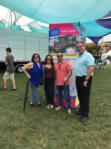Edwin attended Coconut Grove Arts Festival on Feb 15th 2020 via VetTix