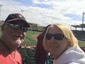 Robert attended Arizona Diamondbacks vs. Oakland Athletics - MLB ** Spring Training ** on Feb 23rd 2020 via VetTix