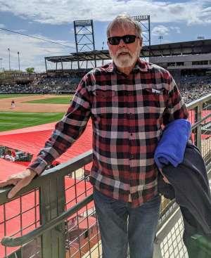 Robert attended Arizona Diamondbacks vs. Oakland Athletics - MLB ** Spring Training ** Lawn Seating on Feb 23rd 2020 via VetTix
