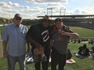 Charles attended Arizona Diamondbacks vs. Oakland Athletics - MLB ** Spring Training ** Lawn Seating on Feb 23rd 2020 via VetTix