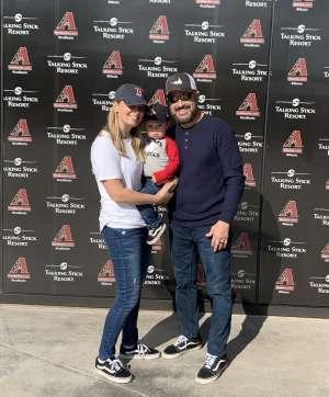 Juan attended Arizona Diamondbacks vs. Oakland Athletics - MLB ** Spring Training ** Lawn Seating on Feb 23rd 2020 via VetTix