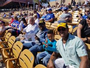 Click To Read More Feedback from Chicago White Sox vs. Kansas City Royals - MLB ** Spring Training ** Reserved Seating