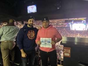 Sergio attended New York Knicks vs. Memphis Grizzlies - NBA on Jan 29th 2020 via VetTix