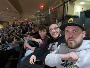 Blake attended New York Knicks vs. Memphis Grizzlies - NBA on Jan 29th 2020 via VetTix
