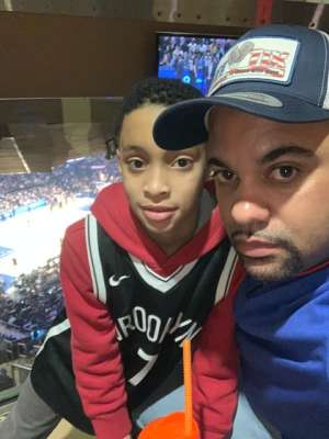 Edward attended New York Knicks vs. Memphis Grizzlies - NBA on Jan 29th 2020 via VetTix