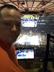 Michael attended New York Knicks vs. Memphis Grizzlies - NBA on Jan 29th 2020 via VetTix