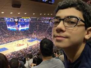 Arenne attended New York Knicks vs. Memphis Grizzlies - NBA on Jan 29th 2020 via VetTix