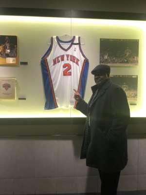 Anthony attended New York Knicks vs. Memphis Grizzlies - NBA on Jan 29th 2020 via VetTix