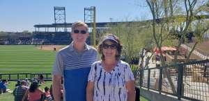 Jay attended Colorado Rockies vs. Texas Rangers - MLB ** Spring Training ** Lawn Seats on Feb 26th 2020 via VetTix