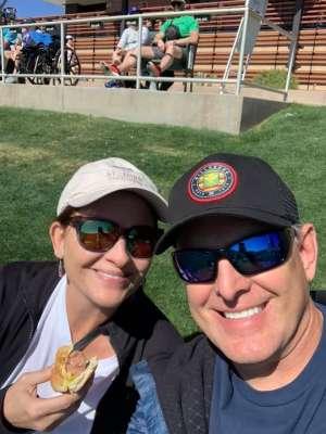 Tamra Zahn attended Colorado Rockies vs. Texas Rangers - MLB ** Spring Training ** Lawn Seats on Feb 26th 2020 via VetTix