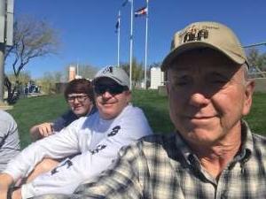 Trace attended Colorado Rockies vs. Texas Rangers - MLB ** Spring Training ** Lawn Seats on Feb 26th 2020 via VetTix