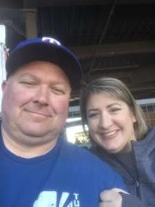 Doyle attended Colorado Rockies vs. Texas Rangers - MLB ** Spring Training ** Lawn Seats on Feb 26th 2020 via VetTix