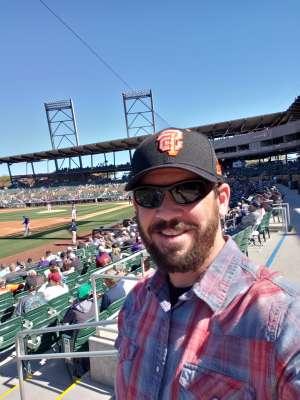 Ed Campbell attended Colorado Rockies vs. Texas Rangers - MLB ** Spring Training ** Lawn Seats on Feb 26th 2020 via VetTix