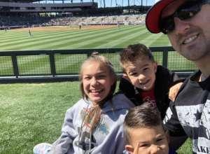 Tisha attended Colorado Rockies vs. Texas Rangers - MLB ** Spring Training ** Lawn Seats on Feb 26th 2020 via VetTix