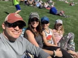 Alana  attended Colorado Rockies vs. Texas Rangers - MLB ** Spring Training ** Lawn Seats on Feb 26th 2020 via VetTix