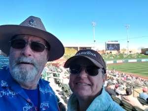 Greg attended Colorado Rockies vs. Texas Rangers - MLB ** Spring Training ** Lawn Seats on Feb 26th 2020 via VetTix