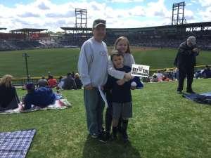 Glenn B attended Colorado Rockies vs. Texas Rangers - MLB ** Spring Training ** Lawn Seats on Feb 26th 2020 via VetTix