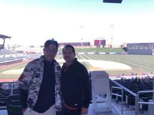 Charles attended Colorado Rockies vs. Texas Rangers - MLB ** Spring Training ** Lawn Seats on Feb 26th 2020 via VetTix