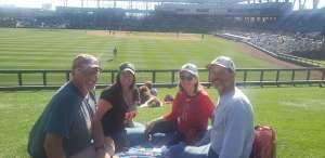 Ron attended Colorado Rockies vs. Texas Rangers - MLB ** Spring Training ** Lawn Seats on Feb 26th 2020 via VetTix