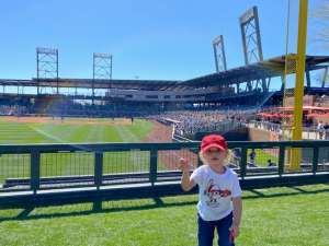 Macaleze attended Colorado Rockies vs. Texas Rangers - MLB ** Spring Training ** Lawn Seats on Feb 26th 2020 via VetTix