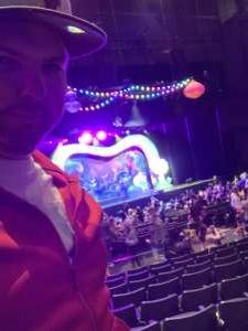 Garrett attended Trolls Live! on Feb 9th 2020 via VetTix
