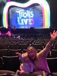 John attended Trolls Live! on Feb 9th 2020 via VetTix