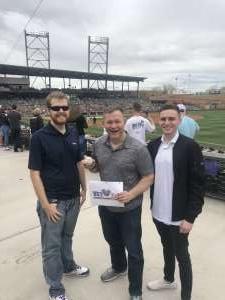 Lane Chereskin attended Colorado Rockies vs. Cincinnati Reds - MLB ** Spring Training ** Lawn Seats on Mar 10th 2020 via VetTix